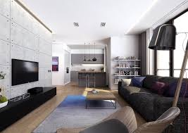 living room fashionable living room design with tv wall inside