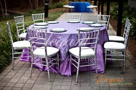 Purple And Silver Wedding Chiavari Chairs Upgrade Weddings And Events