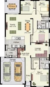 Floor Plan Bed Modern Design 4 Bedroom House Floor Plans Four Bedroom Home Plans
