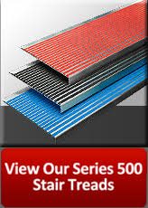 non slip abrasive stair treads amstep products