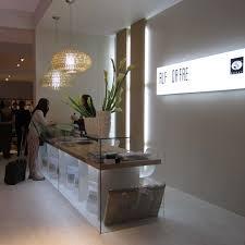 Glass Reception Desk Reception Desk Inspiration Luxury Interior Design Journalluxury