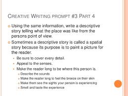 creative writing in english grade 3