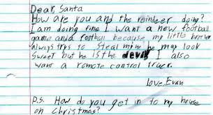 santa letters the 30 funniest letters to santa from kids of all time of all