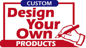 custom design your own products