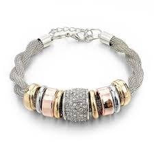 metal bracelet images Entwined silver metal bracelet pandoras box inc jpg