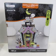 creatology 3d halloween house 105 pieces value pack crafts for