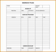 6 workout planner template divorce document