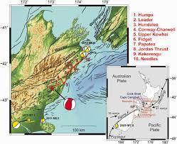 Generic Mapping Tools The 2016 Kaikōura New Zealand Earthquake Preliminary