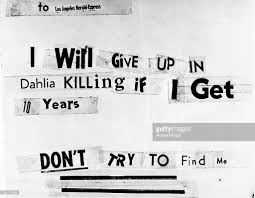 black dahlia murder letter pictures getty images
