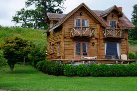 Backyard Cabin Free Images Wood Lawn House Building Home Shed Hut