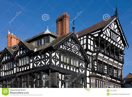 tudor buildings chester england editorial photo image 20110386