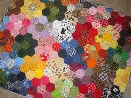 modern grandmas flower garden quilt from quilts by elena english