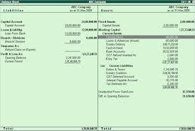 Opening Balance Sheet Template Setting Closing Stock Manually In The Balance Sheet