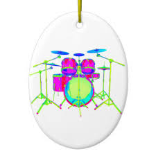 drum set ornaments keepsake ornaments zazzle