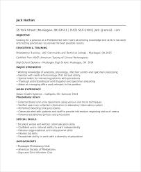 Laboratory Skills Resume Phlebotomy Resume Templates Phlebotomy Resume Template 6 Free Word