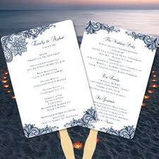 how to make your own wedding programs best 25 order of service template ideas on wedding