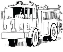 fire engine coloring pages print full size of truck color large