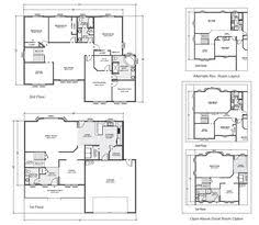 True Homes Floor Plans Stillwater First Floor Multilevel Home True Built Home On