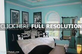 Red Bedrooms Decorating Ideas - black and teal bedroom decorating ideas
