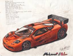 mclaren f1 drawing mclaren f1 lm by jmr mobius 1 on deviantart