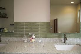 waveline glass tile reflects the flowing feel of water