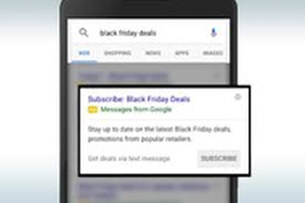 best black friday gaming tv deals google wants to send you sms text alerts for black friday deals