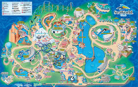 Map Of Premium Outlets Orlando by Sea World Map Map Of Seaworld Orlando Florida Usa