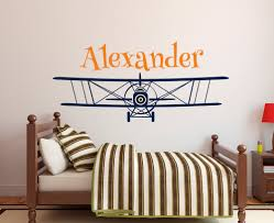 popular airplane wall decal buy cheap airplane wall decal lots large size personalized airplane name wall decal custom boy s name wall stickers for kids room nursery