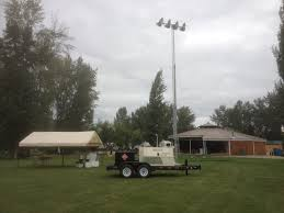 powertower trailer mounted light towers frontier power products