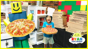 roblox work at a pizza place in real life family fun kids pretend roblox work at a pizza place in real life family fun kids pretend playtime ryan toysreview
