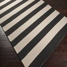 Black White Area Rug Rugs Curtains Exciting Black And White Stripe Area Rugs For