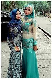 model baju kebaya muslim contoh baju kebaya wisuda muslim gaun kebaya and