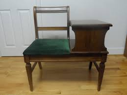 Old Wood Benches For Sale by Vintage Telephone Tables Guide Vintage Furniture Vintage