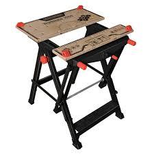table formalbeauteous husky portable jobsite workbench router