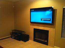 of tv mounted over fireplace dact us