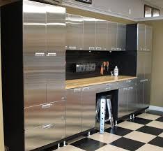 steel garage storage cabinets garage innovations stainless steel