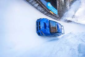 subaru winter how can we make auto racing an olympic sport subaru has an idea