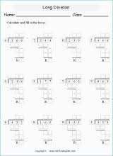 division worksheet four with remainders stuff to buy pinterest