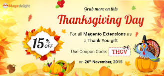 upgrade your store on this thanksgivingday with 15 discount on