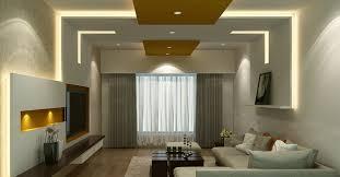 Fall Ceiling Design For Living Room by Pop False Ceiling Design With Wooden Tray For Living Room Jpg Room