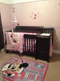 baby nursery decor adorable simple baby minnie mouse nursery with