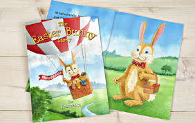easter bunny books personalised the easter bunny story book i just it