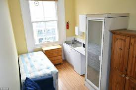 One Bedroom In London Who Needs To Swing A Cat Anyway Tiny Bedsits The Size Of A