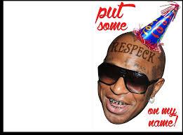 john cena birthday card birdman put respeck on my name birthday card with sound