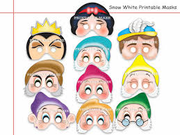 printable version of snow white unique snow white and the 7 dwarfs by holidaypartystar on zibbet