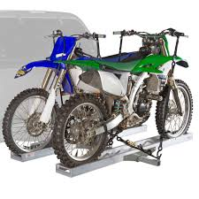 80cc motocross bikes for sale 600 lb hitch mounted double motorcycle u0026 dirt bike carrier with