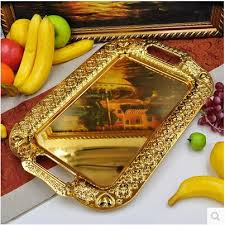 wedding serving trays large gold serving tray home ideas
