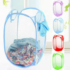 Laundry Hamper For Kids by Aliexpress Com Buy Pop Up Hamper Reinforce Nylon Mesh Laundry