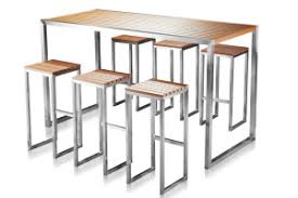High Bar Table And Stools Bar Table And Stools Bar Table Glass And Chrome Stainless Steel