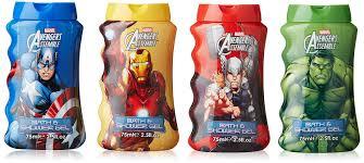 Marvel Bathroom Set Marvel Avengers Assemble Bath U0026 Shower Gel Gift Set 4 X 75ml
